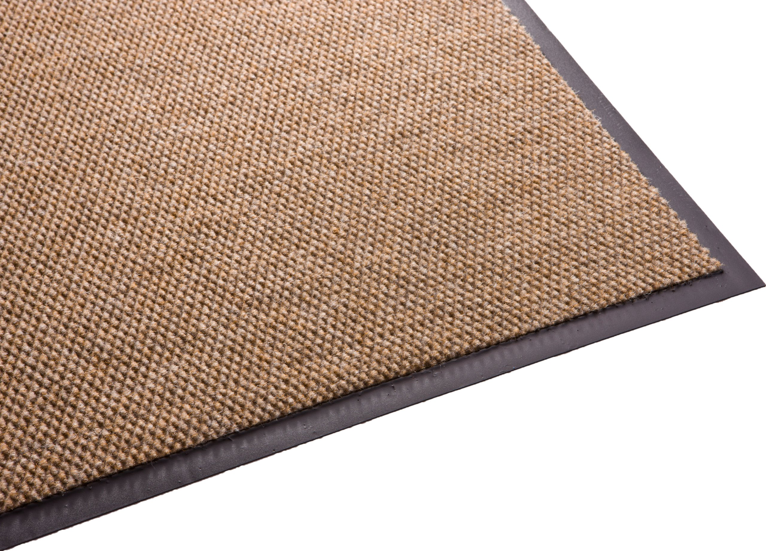 Guardian Golden Series Hobnail Indoor Wiper Floor Mat, Vinyl/Polypropylene, 4'x10', Sand