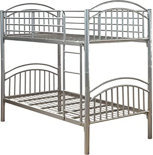 3ft Single Metal Bunk Bed Twin Sleeper Amazon Co Uk Kitchen Home