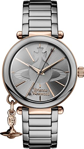 a2cddd3d724 Vivienne Westwood Womens Analogue Classic Quartz Watch with Stainless Steel  Strap VV067SLTI: Amazon.co.uk: Watches