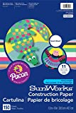 "SunWorks Construction Paper, 12""X18"", Smart-Stack Assortment, 150 Sheets"