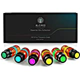 Alyees - Aromatherapy Essential Oils Gift Set - 100% Pure Therapeutic Grade Starter Pack - Best used For Massage Spa diffusers Holistic Healing - Premium Quality Scented Oils - The Perfect Sampler Kit Guaranteed - FREE Bonus E Book With Every Order- Unlock The Power Of Natural Healing!