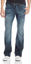 Buffalo David Bitton Mens King Slim Fit Bootcut Jean