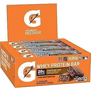 Gatorade Whey Protein Recover Bars