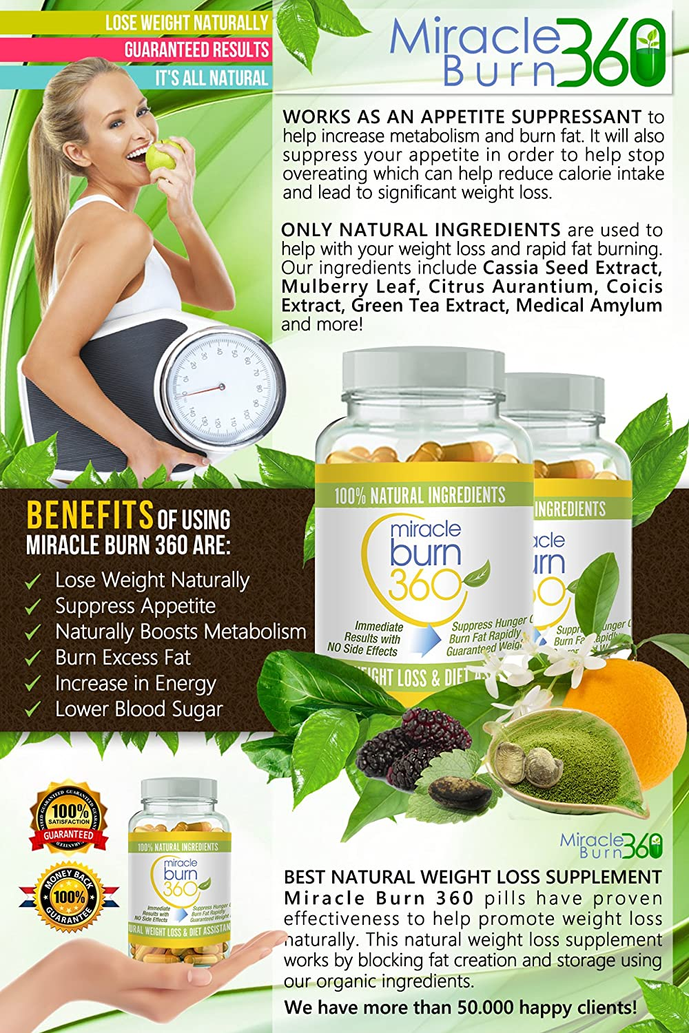 Fast Acting Weight Loss Pills. Natural Appetite
