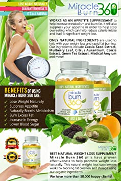 Fast Acting Weight Loss Pills  Natural Appetite Suppressant & Fat Burner  Supplement to get Slim Fast -