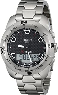 009e7ecca93 Amazon.com  Tissot Men s T0134204420200 T-Touch Expert Titanium ...