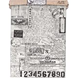 Tim Holtz Idea-ology Tissue Wrap Paper, Postale, 15 Feet x 12 Inches, (TH93181)