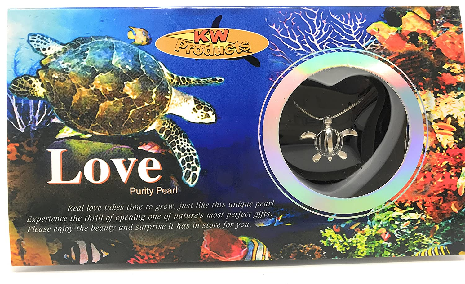 KW Products - Love Wish Pearl Kit - Harvest Your Own Pearl - Assorted '