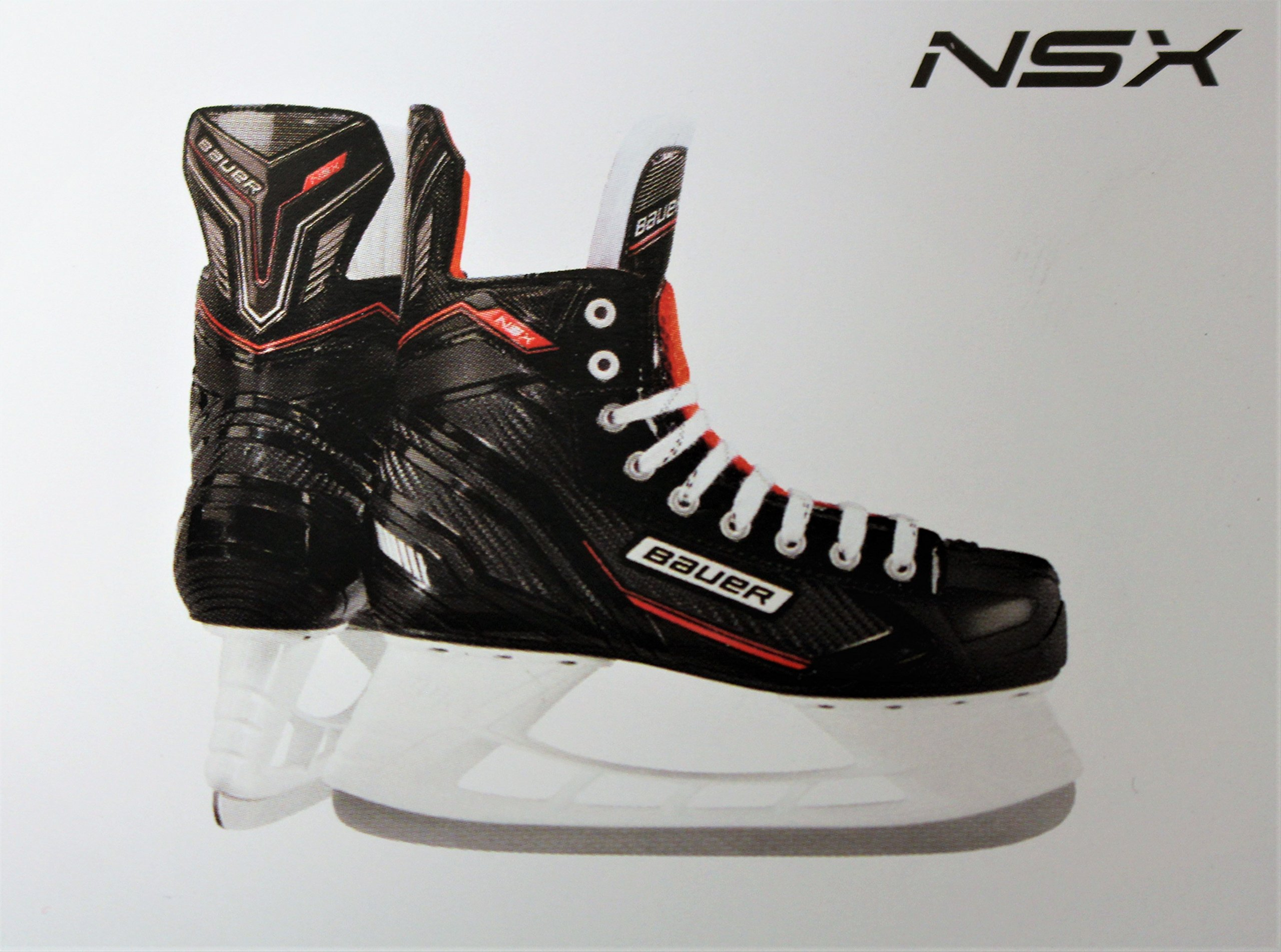 Bauer NSX Junior Hockey Skates Size 3 R by Bauer NSX Junior Hockey Skates