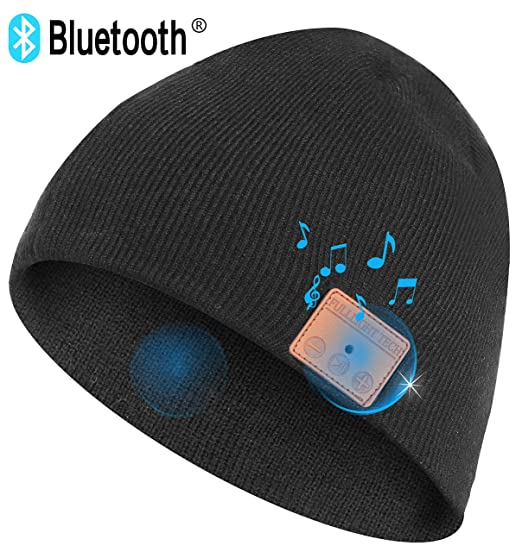 Consumer Electronics Bluetooth Earphones & Headphones Novelty Bluetooth Knitted Cap Wireless Sport Headset Hat Call Music Stereo Headphone Caps Colorful Hats For Christmas Gift