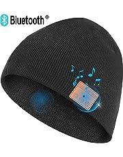 1a199672c46 Upgraded V4.2 Bluetooth Beanie Hat Headphones Wireless Headset Winter Music  Speaker Hat Knit Running