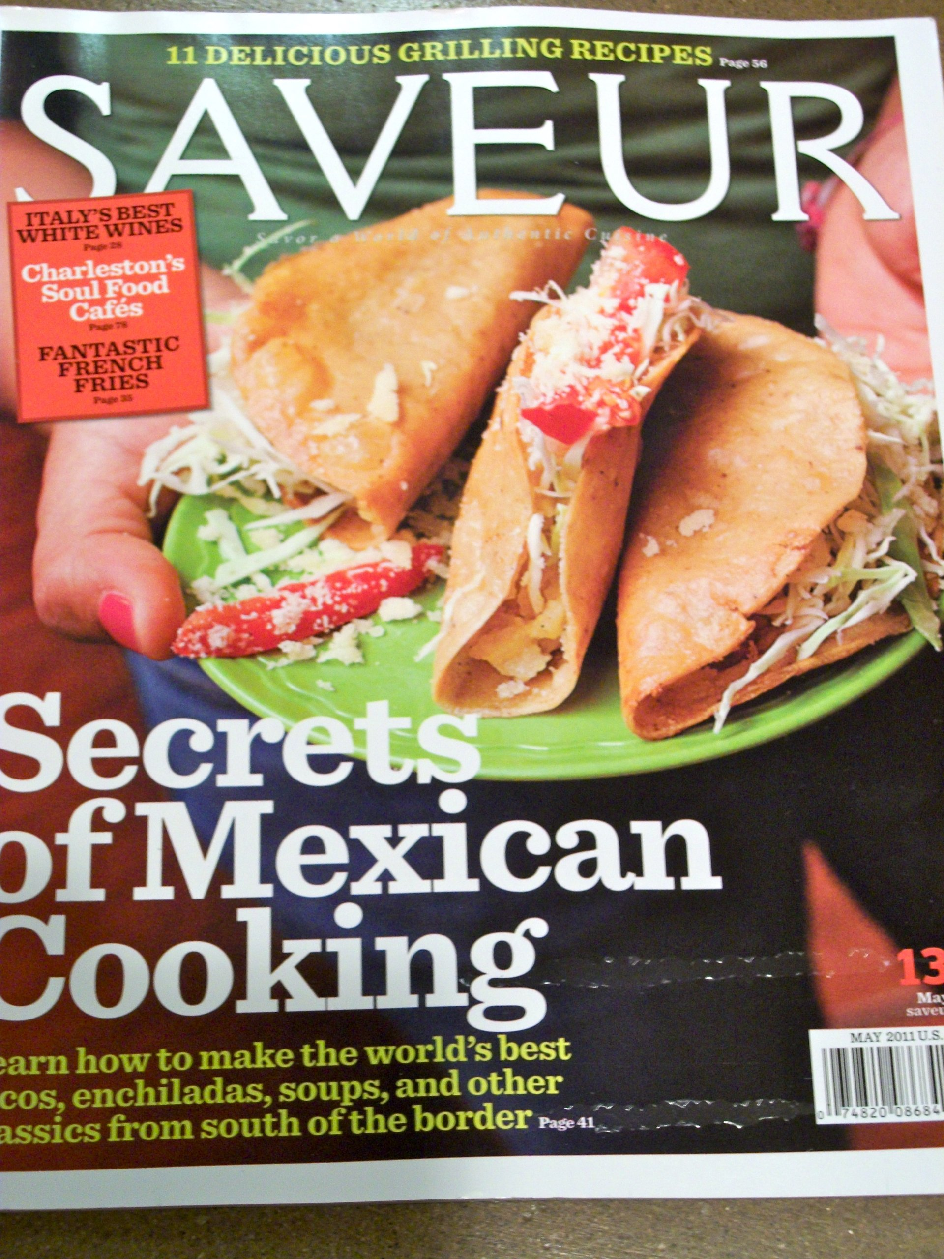 Saveur May 2011 Secrets of Mexican Cooking ebook