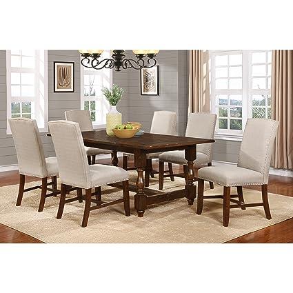 Amazon Com Overstock Best Master Furniture H01 5 Piece Dining Set