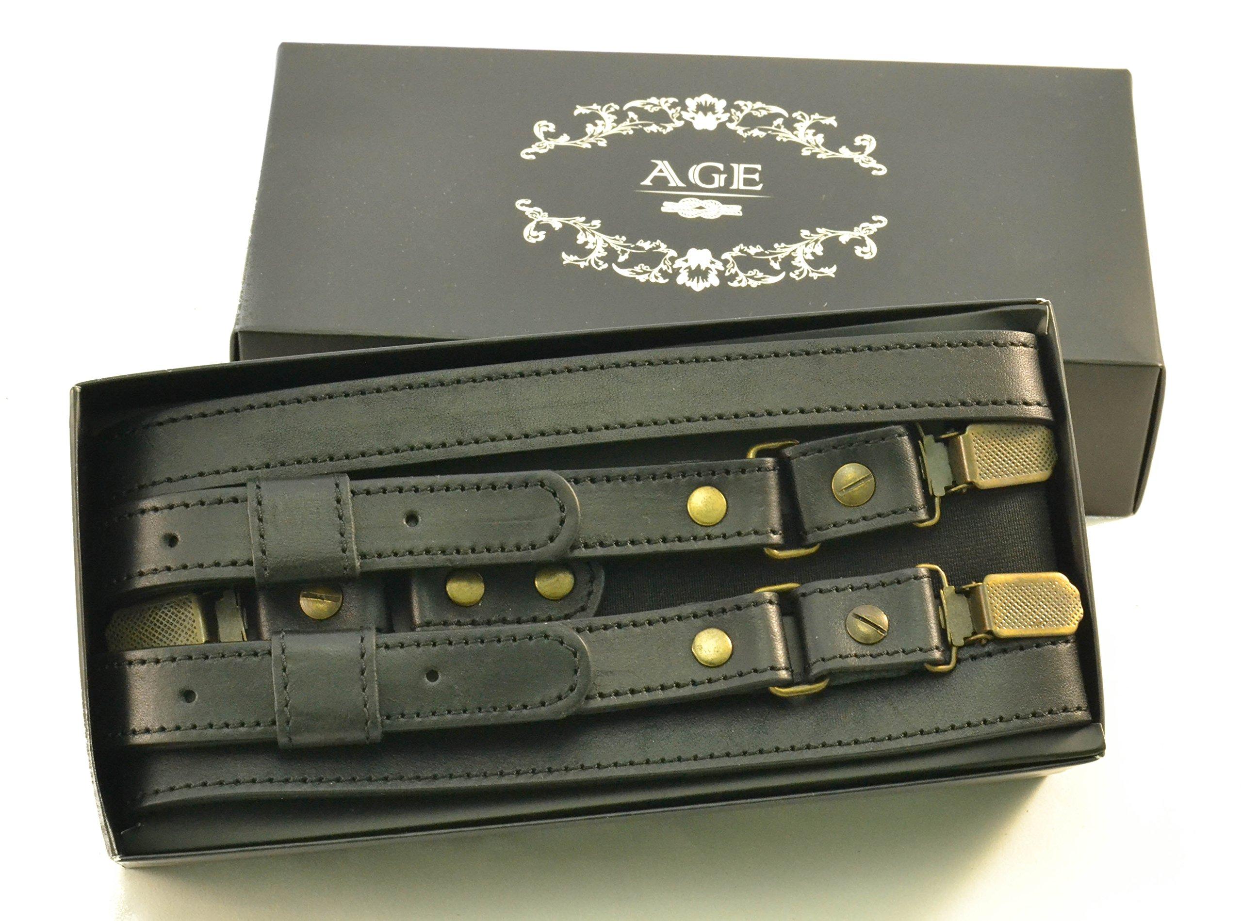 Suspenders for men, double clip suspenders, men suspenders braces Y-back by AGE (Image #8)