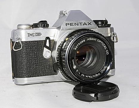 Pentax MG SLR - Cámara de Enfoque Manual con Lente Pentax de 50 mm ...