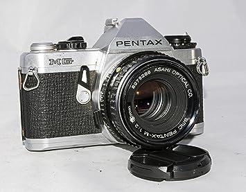 amazon com pentax mg slr manual focus camera with a pentax 50mm rh amazon com Pentax Mg Owner's Manual Pentax Mg Owner's Manual