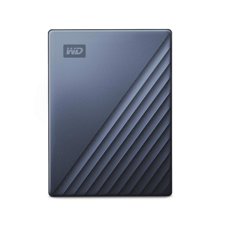 WD My Passport Ultra Disco Duro Externo para Mac de 5 TB Preparado para USB-C