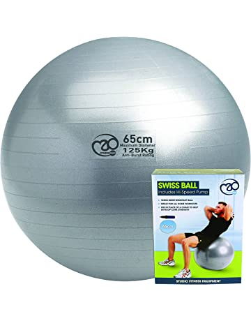 Pilates-Mad - Pelota suiza (soporta cargas de 125 kg) 09903d89211f
