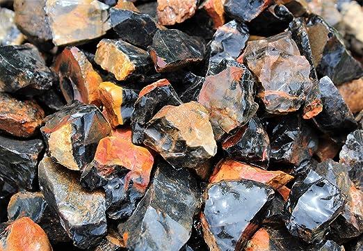 TUMBLER BLACK JASPER Rough Rocks CABBING ROUGH 2 1//2 LB Lot FREE SHIPPING
