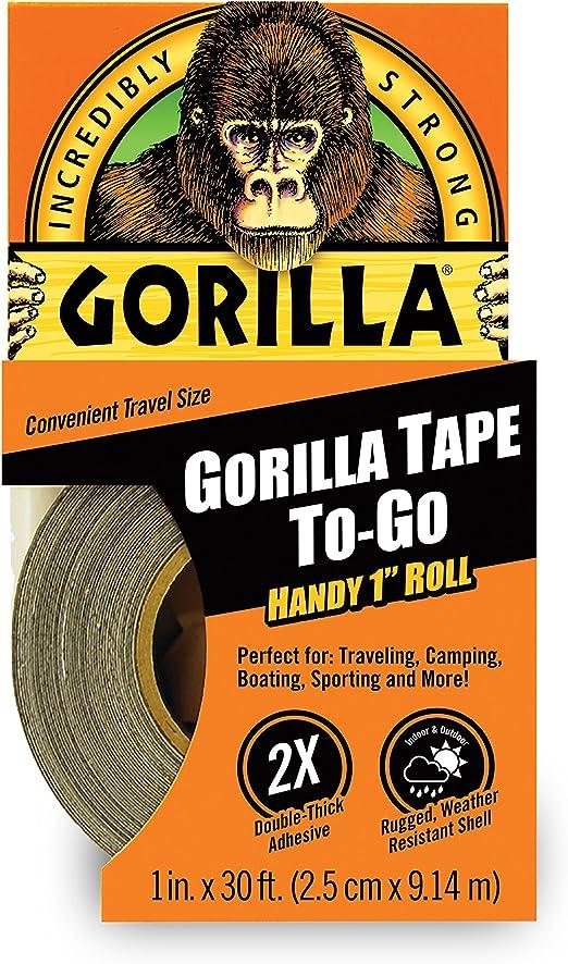 Gorilla 3044401 Tape Handy Roll Black 1 Pack 1 Pack