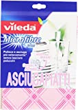 Vileda - Microfibre Plus Asciugapiatti 55x40 cm - 2 panni