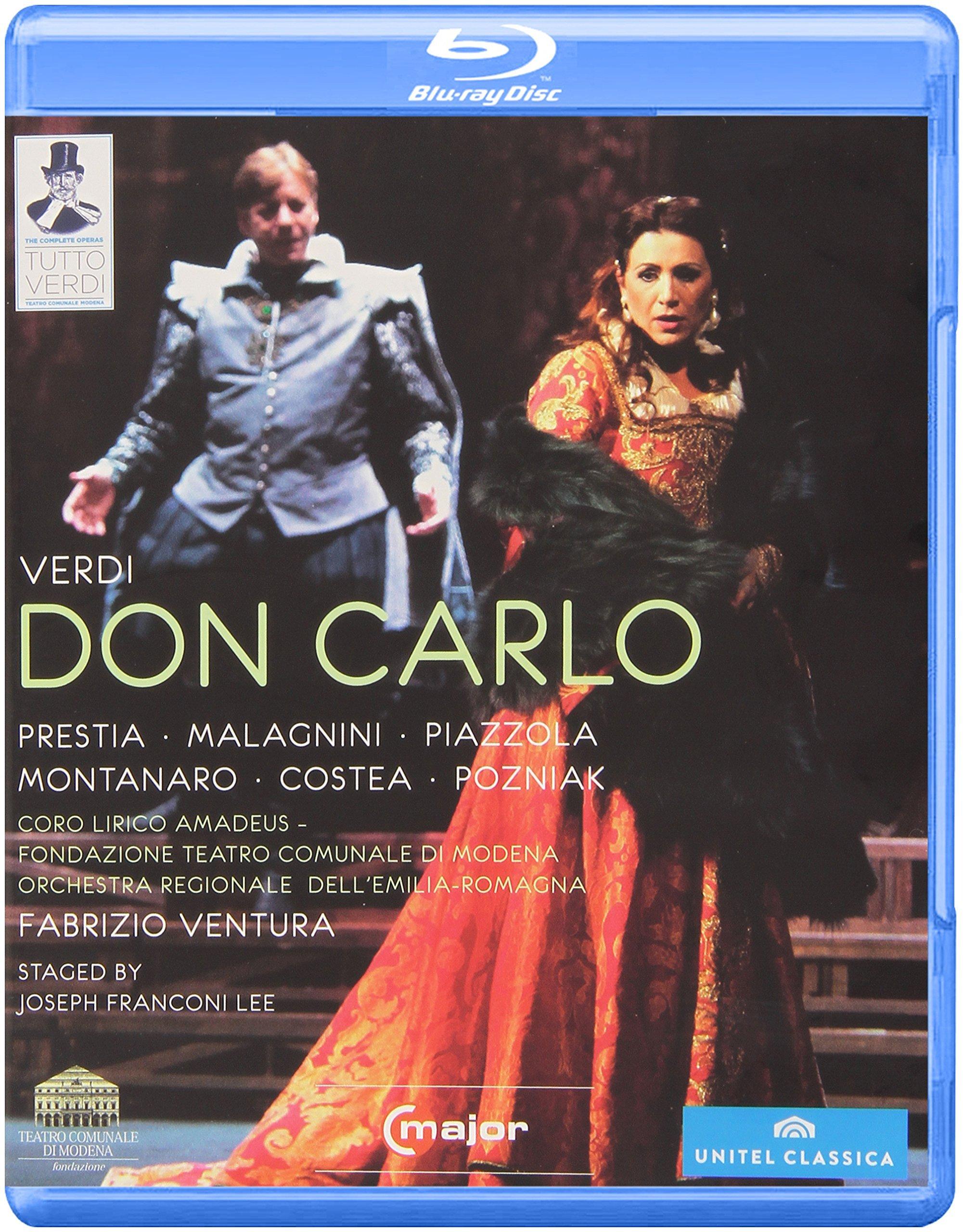Fabrizio Ventura - Don Carlo (Blu-ray)