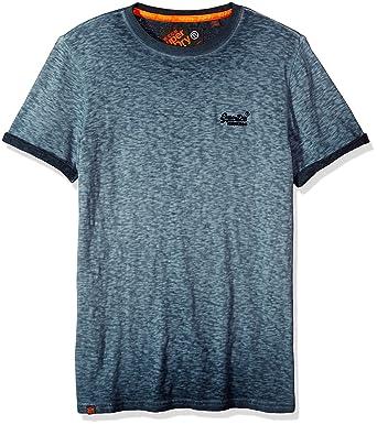 fe8af0f2 Amazon.com: Superdry Men's Orange Label Low Roller Short Sleeve T-Shirt:  Clothing