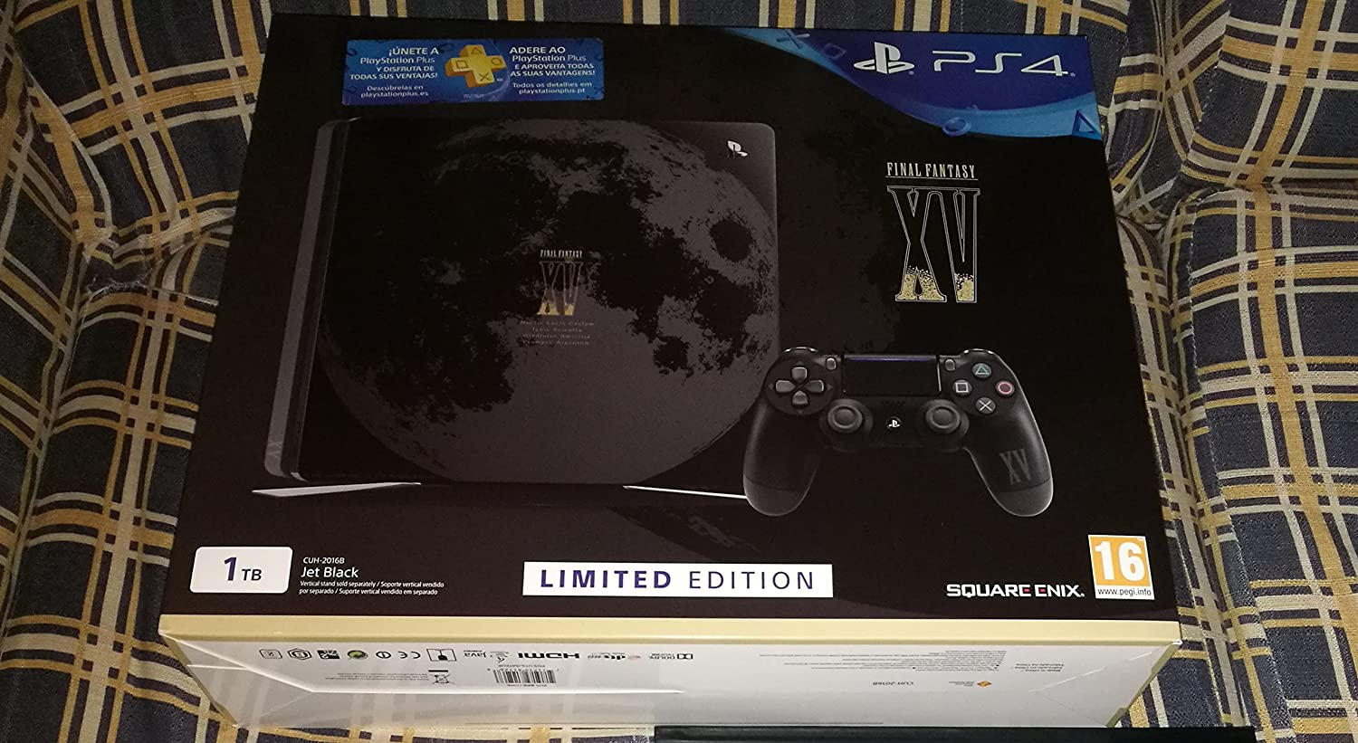 Consola PS4 Slim Final Fantasy XV Limited Edition PAL ESP: Sony ...