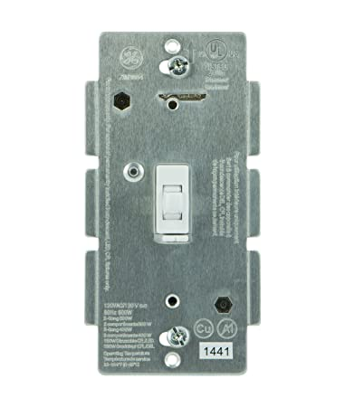 ge z wave wireless lighting control smart dimmer toggle switch in wall buy ge ge 45613
