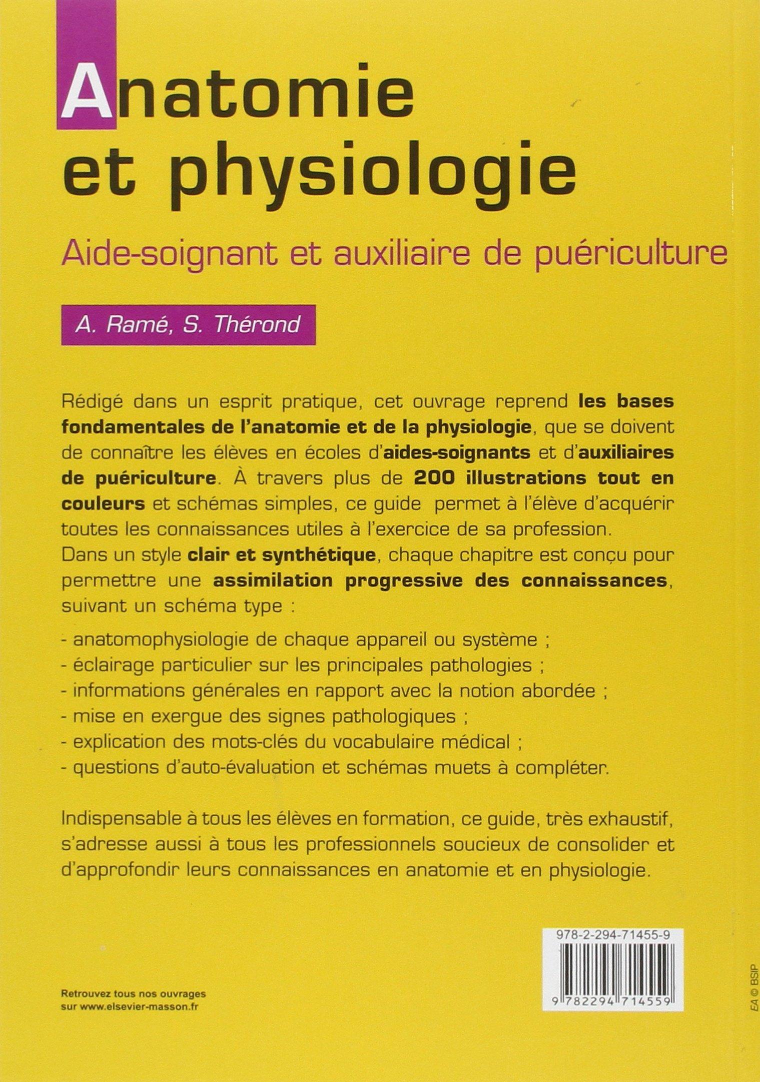 Amazon.fr - Anatomie et physiologie: Aide-soignant et auxiliaire de ...