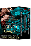 Regency Romps: Rogues, Spies and Lords of Honor, Books 1, 2, 3