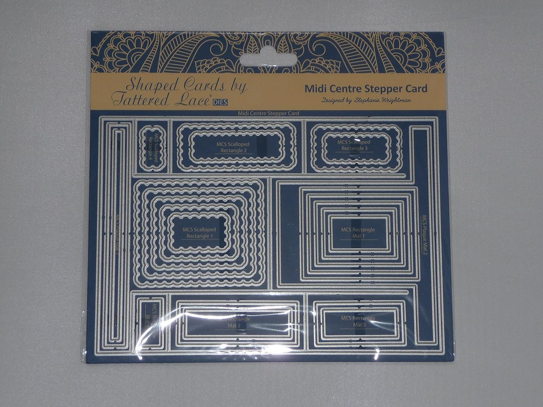 Tattered lace metal juego de troqueles midi centro paso a paso ...