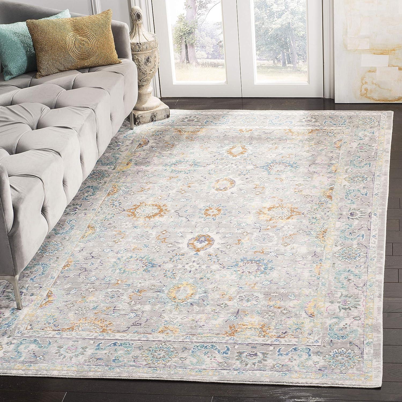 Safavieh Vintage Karine Teppich Polyester Grau Mehrfarbig, 200 x 300 300 300 cm B01N1S6LSV Teppiche & Matten 961316