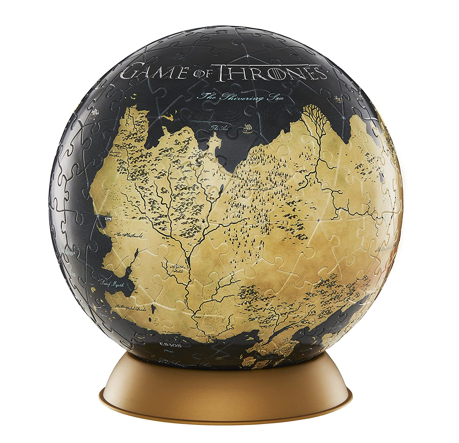 4D Cityscape Game of Thrones (GoT) 3D Westeros and Essos Globe Puzzle, on detailed map of westeros game of thrones, crown lands map game of thrones, google map game of thrones,