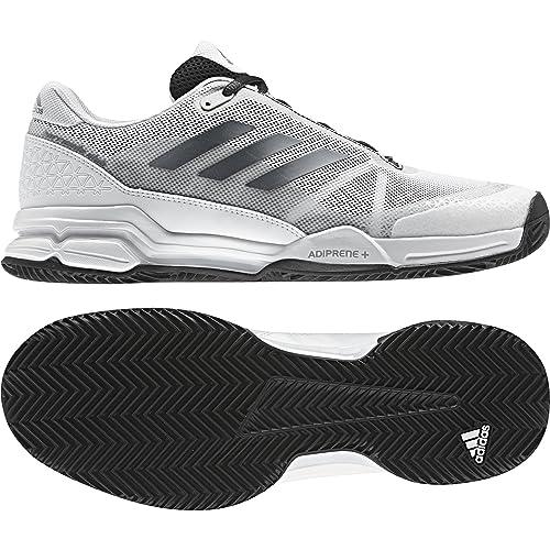 ca96cf32 adidas Barricade Club Clay BY1640, Zapatillas de Tenis para Hombre, Negro  (Negbasnocmétftwbla), 41 1/3 EU: Amazon.es: Zapatos y complementos
