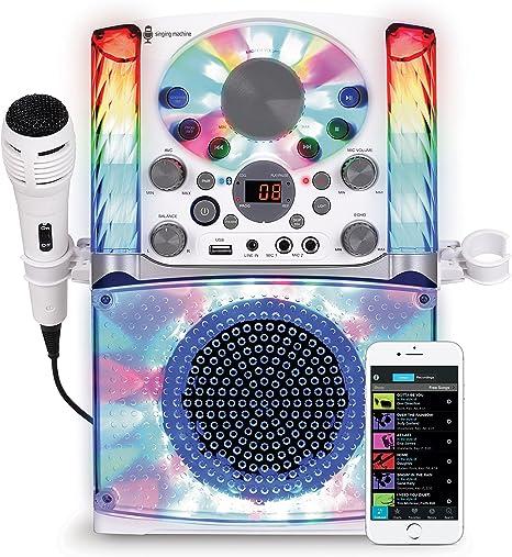 Singing Machine Light up microphone Karaoke System