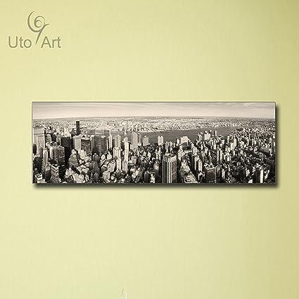 Amazon.com: Uto_Art Modern City Printed Painting Wall Art Picture ...