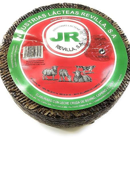 Queso curado mezcla elaborado con leche cruda de oveja, cabra y vaca.(2