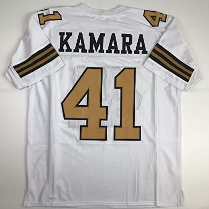 cc9ed1ed894 Amazon.com: Unsigned Alvin Kamara New Orleans Color Rush Custom Stitched  Football Jersey Size Men's XL New No Brands/Logos: Sports Collectibles