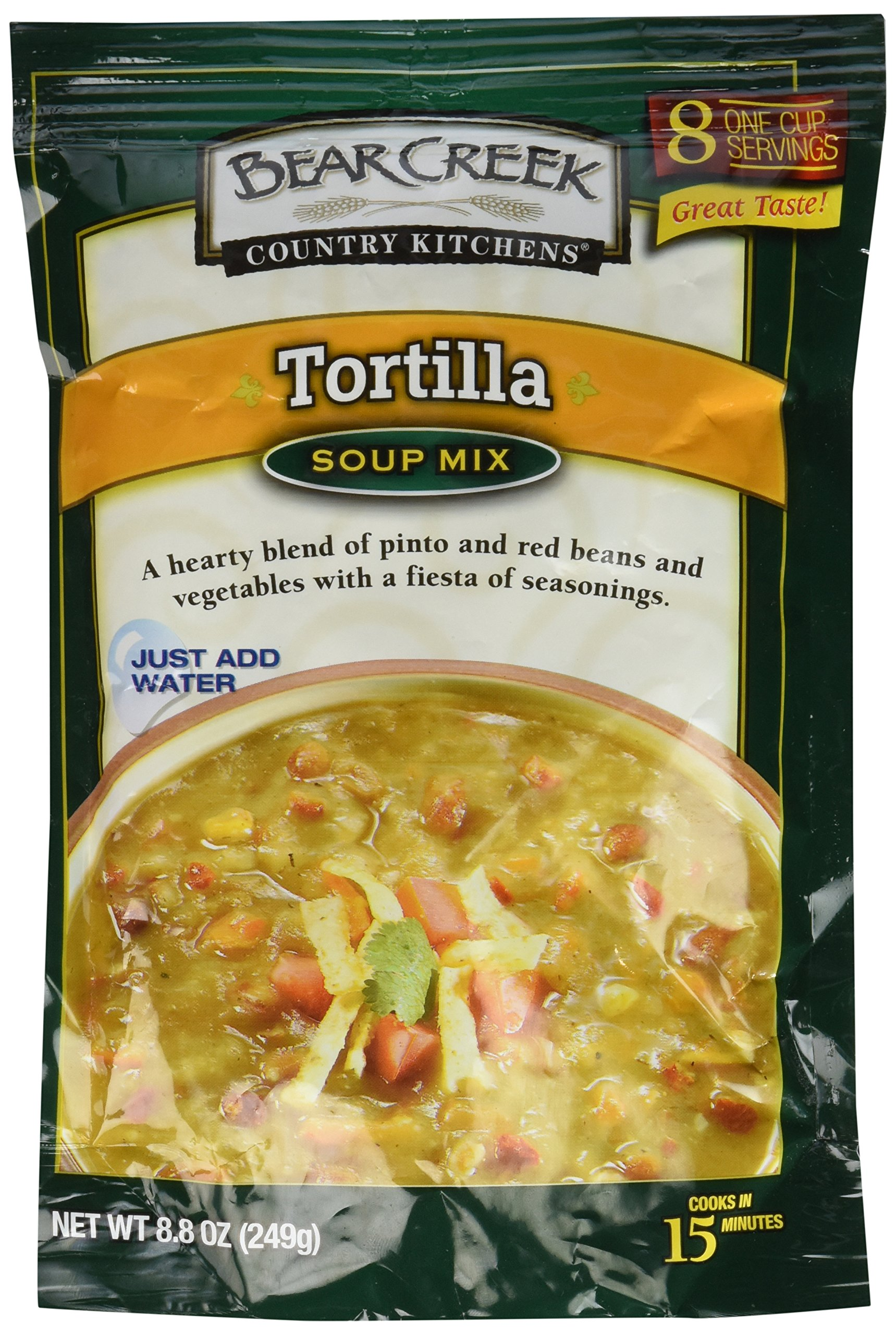 Bear Creek TORTILLA Soup Mix 8.8oz (3 Pack)