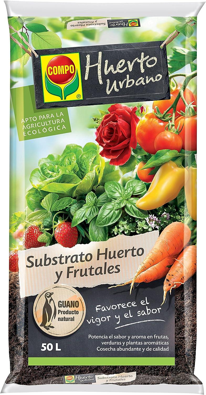 Compo Huerto Urbano Substrato, 50 l: Amazon.es: Jardín