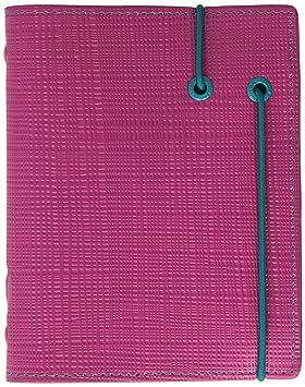 Filofax Pocket Apex - Agenda de anillas, color rosa: Amazon ...