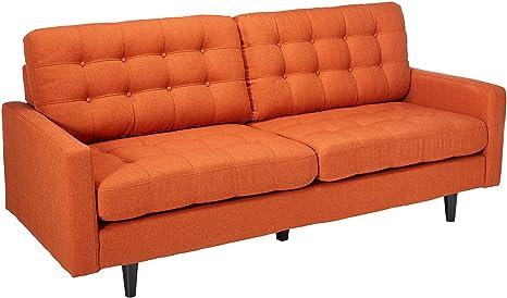 Amazon.com: Coaster kesson Mid Century moderno sofá en ...