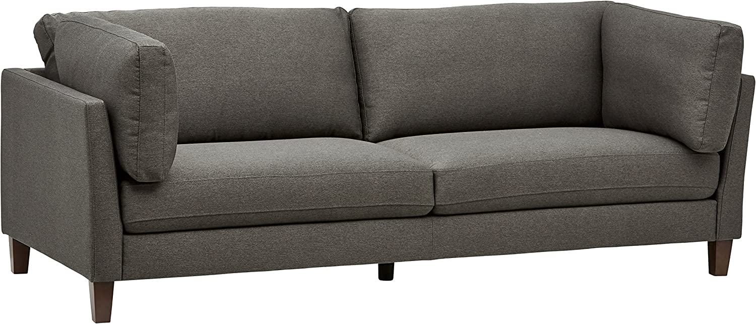 2/Rivet Midtown Contemporary Upholstered Sofa Couch