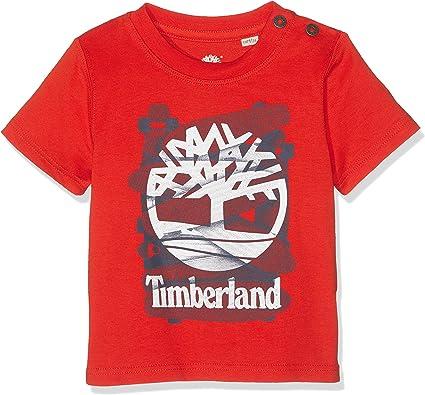 Timberland Tee Shirt Courtes Manches Bébé garçon EH9IDWY2