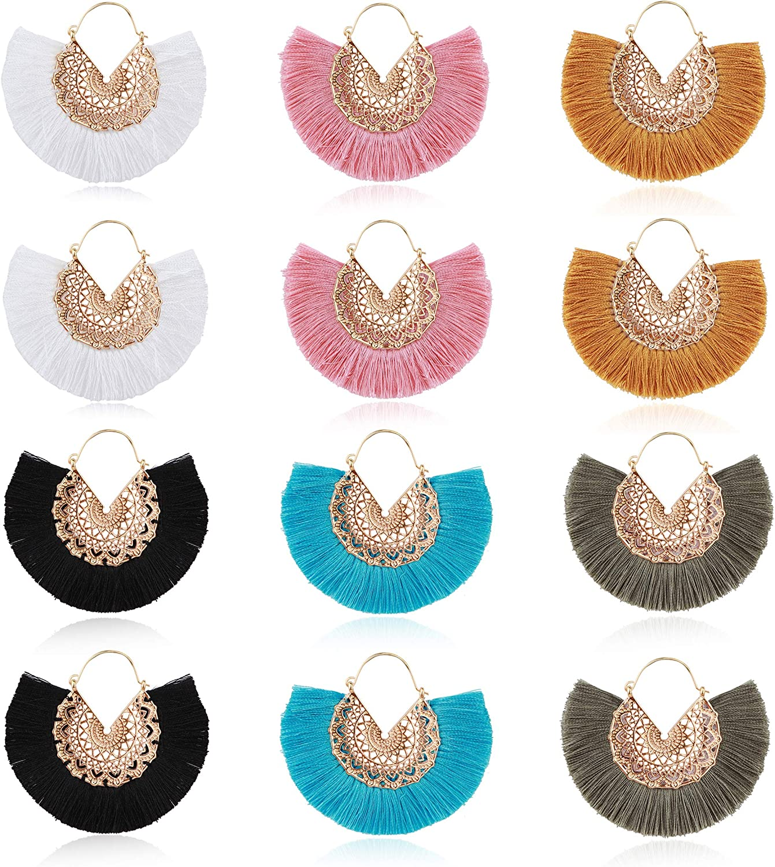 transparent pink /& gold loop dangle EARRINGS jewellery T2