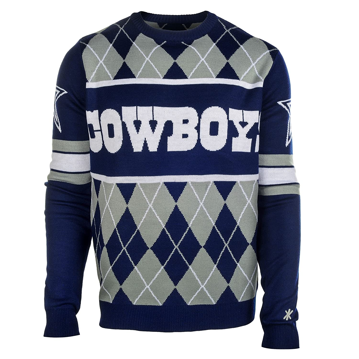 NFL Football Cowboys Big Logo Ugly Sweater