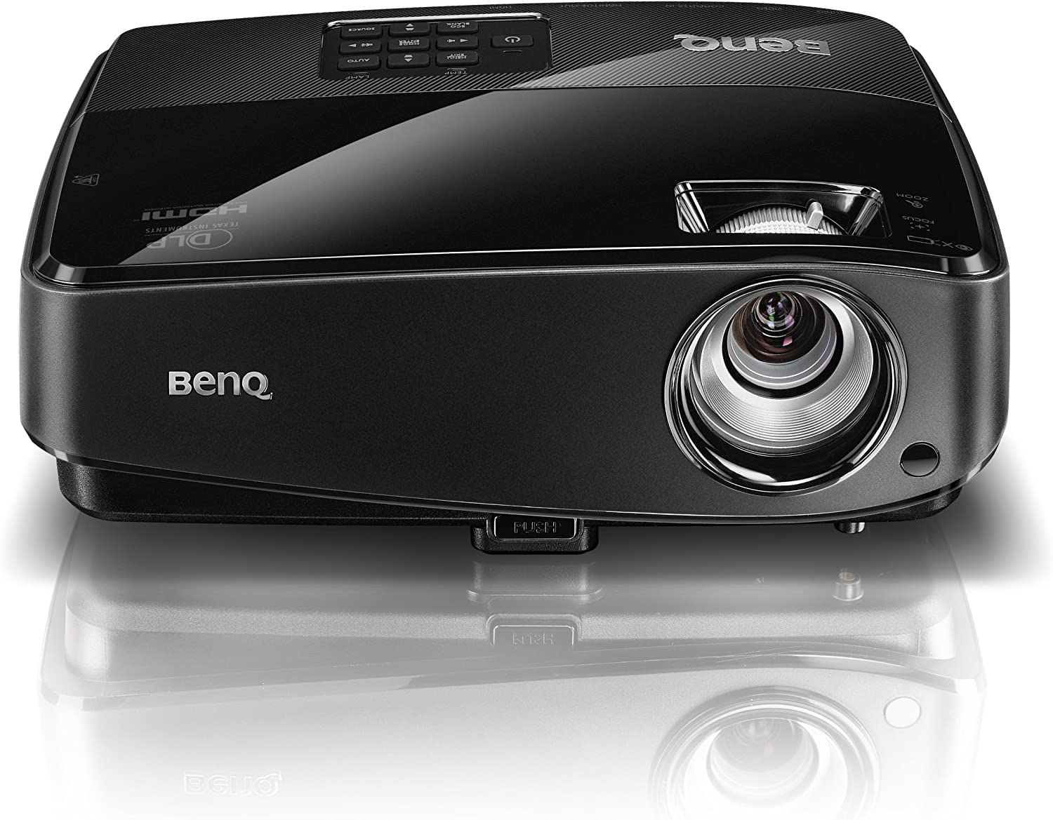 BenQ MX522 XGA 3000L HDMI Smarteco 3D Projector with 10,000 Hour Lamp Life Projector