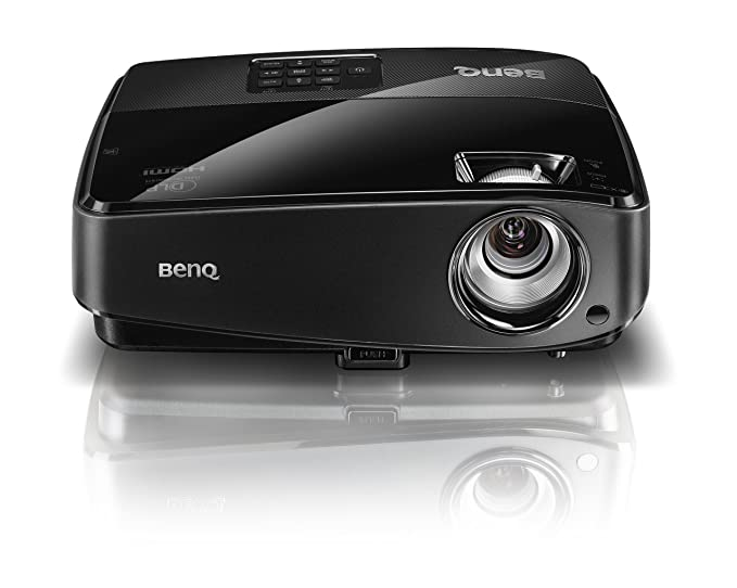 Benq MW523 - Proyector (3000 lúmenes ANSI, DLP, WXGA (1280x800), 4500h, 190W, 6000h) Negro