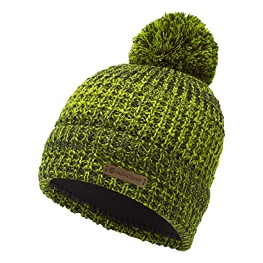 59f42fe626b Montane Top Out Bobble Beanie ONE Size Arbor Green  Amazon.co.uk ...